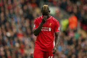 Liverpool striker Mario Balotelli hasn't had much luck lately - both on and off the pitch.