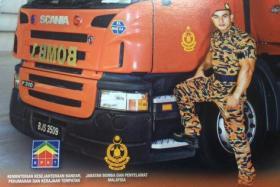The Jabatan Bomba & Penyelamat Malaysia (Fire & Rescue Department of Malaysia) 2015 calendar