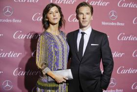 Benedict Cumberbatch and his fiancee Sophie Hunter are expecting their first child.