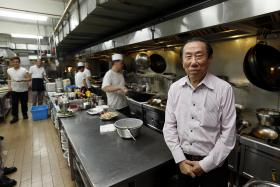 Mr Henry Tan Kweng Nam, owner of Boon Lay Raja Restaurant.