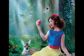 Malaysia's Daiyan Trisha as Snow White.