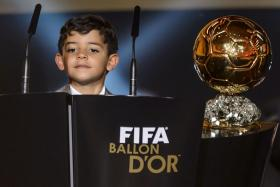 Cristiano Ronaldo Jr is a big fan of Lionel Messi despite the rivalry between his father and the Barcelona star.