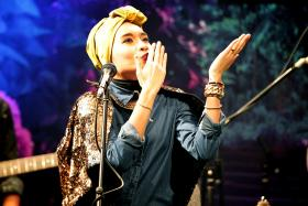 Yuna will be performing in Singapore for Sing Jazz 2015 in March.