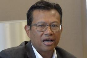Malaysia's Communications and Multimedia Minister Ahmad Shabery Cheek.