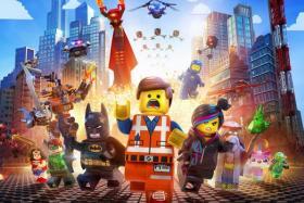 Cinema still from the Lego Movie.