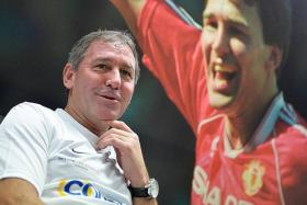 CAPTAIN MARVEL: Bryan Robson had 90 caps for England from 1980 to 1991.