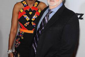 """""""We're soulmates."""" - George Lucas on his wife Mellody Hobson"""