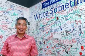 Questions for Prime Minister Lee Hsien Loong'S live Facebook chat ranged from transport fare hikes to why he keeps wearing pink shirts (Psst, someone told him to).