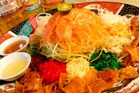 Bring some good flavour to your Chinese New Year with yusheng.