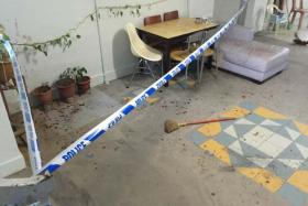 A man and a woman were injured in a slashing incident at Marsiling. The attacker was later found dead in a flat which was on fire.