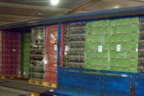 File photo of cartons of contraband cigarettes found in a lorry at Woodlands Checkpoint on Sept 5, 2014.