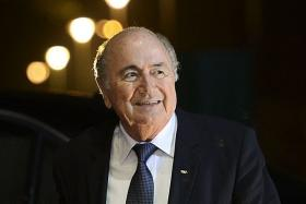 Sepp Blatter has taunted Uefa for not having the courage to challenge him for the Fifa presidency.