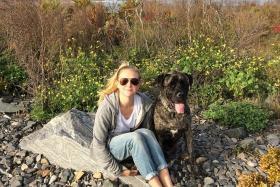 Lauren Fern Watt took her dying dog on a bucket list adventure