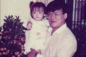 Cutie pies: These 11 adorable kids, like this hot actress-in-the-making (above), had no idea they'd grow up to be some of Singapore's most popular celebrities. Can you guess who they are?