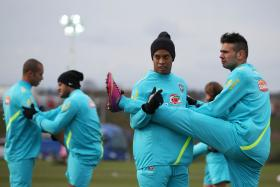 Mexican club Queretaro have a customised fitness routine for former Brazil star Ronaldinho.