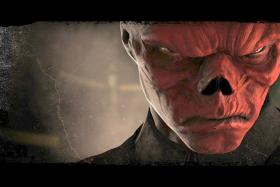Red Skull, the arch-enemy of Captain America, has inspired a fan to copy his look by doing face surgery, tattoos and subdermal implants.
