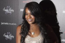 Bobbi Kristina Brown, daughter of singer Bobby Brown and his late wife, Whitney Houston.