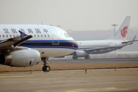 File photo of a China Southern Airlines plane.