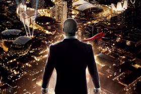Hitman: Agent 47 was filmed in Singapore - and features multiple landmarks.