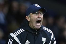 West Bromwich Albion manager Tony Pulis, formerly the manager of Crystal Palace.