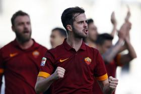 Liverpool manager Brendan Rodgers is believed to have scouted AS Roma midfielder Miralem Pjanic after he was spotted at the Vatican.