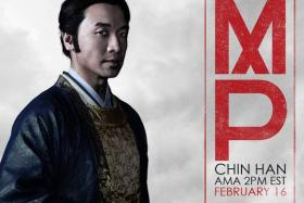 Singaporean actor Chin Han conducted a Reddit AMA session last night.