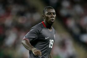 File photo of Freddy Adu in an United States jersey.