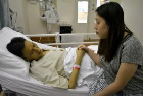 The wait for a suitable liver donor continues for husband and wife couple, Mr Jason Mah and Ms Serene Koh.