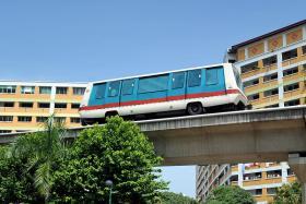 File photo of an LRT train on the Bukit Panjang line.