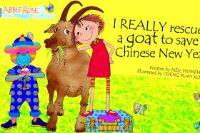 Neil Humphreys' children's book I Really Rescued a Goat to Save Chinese New Year has topped charts all over the world.