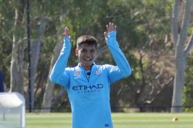 File photo of Safuwan Baharudin in training with Melbourne City.