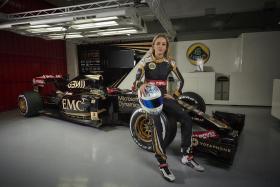 Spanish racing driver Carmen Jorda is Lotus' newest F1 development driver.