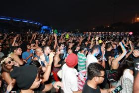 The police rejected Future Music Festival Asia's permit applications twice because of serious concerns with potential drug abuse at the event.