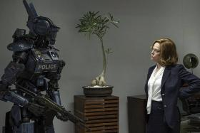 GRANTED: Sigourney Weaver wanted to be in Chappie.