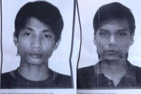 Malaysians Muhamad Wanndy Muhamad Jedi (left) and Mohd Faris Anuar (right) were identified in an Islamic State of Iraq and Syria (ISIS) beheading video.