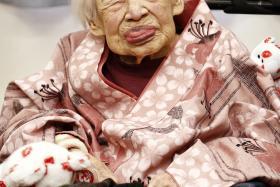 Misao Okawa celebrated her 117th birthday on March 5.