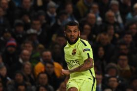 Dani Alves has other skills apart from being a footballer