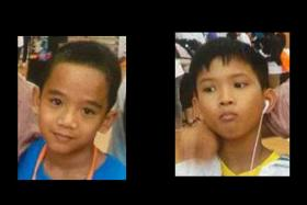 The boys, aged 12 and 10, were last seen at Yishun on Sunday (March 8).