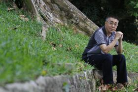Long wait: Veteran actor Chen Shucheng has been nominated for the Star Awards Top 20 Most Popular Male Artistes since 1997. But after 14 nominations, he is still without a win.