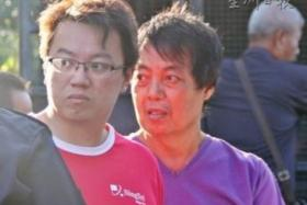 Moo He Hong (right) and his son Wee Keong have been charged with murder.