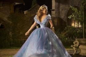 MAGICAL: Lily James as Cinderella.