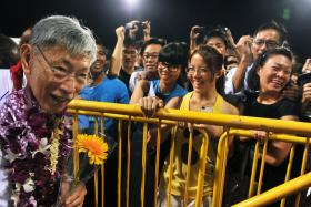 Opposition politician Chiam See Tong, who was an MP from  1984 to 2011, turns 80 today.