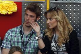 Edurne Garcia, seen here with boyfriend David de Gea in a photo from 2011, has little love for Manchester.