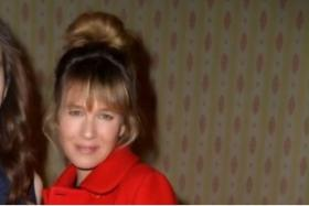 Leave her alone: Renee Zellweger appeared this week (above) for a fashion show in Paris looking like her old self.