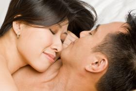 Men and women, listen up. A recent study showed that woman need to have sex 11 times a month to be happy. Satisfaction apparently isn't as important as frequency.