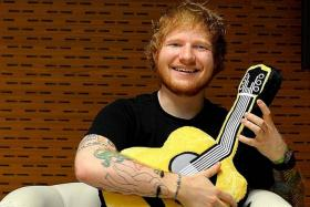 LEVEL-HEADED: Singer-songwriter Ed Sheeran says there should be more to choosing a life partner than looks.
