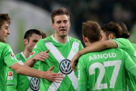 Former Arsenal striker Nicklas Bendtner, now with Wolfsburg, is officially a lord in western Scotland.