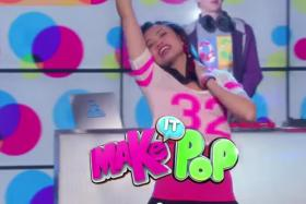"""Where is the K-pop?: Make It Pop, Nick Cannon's new Nickelodeon show, has been touted as a """"K-pop-inspired Glee"""", but netizens who watched the recently released trailer have accused it of lacking many K-pop elements."""
