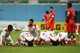 UNDER FIRE: The national under-23 team, captained by Shakir Hamzah (left), are under the spotlight after losing to Syria and Cambodia.