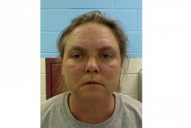 Joyce Garrard , 49, was convicted of murdering her granddaughter by forcing the nine-year-old to run back and forth in a yard carrying wood for almost three hours as punishment.